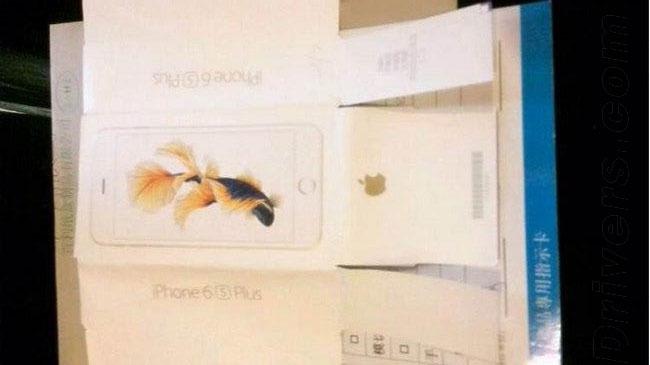 Ambalajul lui iPhone 6s
