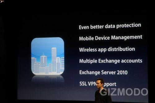 iPhone OS 4.0 - Securitate