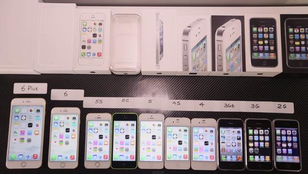 iPhone 6 și iPhone 6 Plus comparate într-un test de viteză cu celelalte modele iPhone lansate până acum