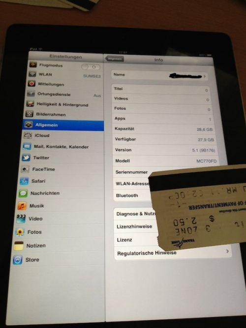 Avem jailbreak pentru iOS 5.1 pe iPad 2!