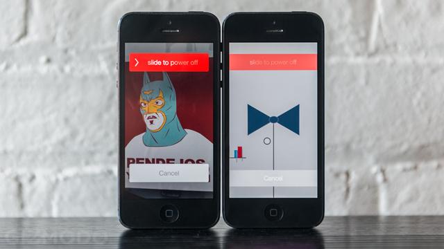 iOS 7 beta Screenshot Shut Down