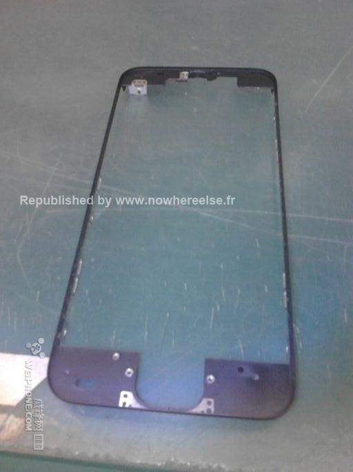 Posibilă rama de iPhone 5S fotografiată la o fabrică Foxconn