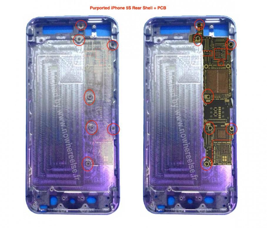 Noi componente iPhone 5S ajunse pe web oferă indicii cu privire la scannerul de amprente integrat În handset
