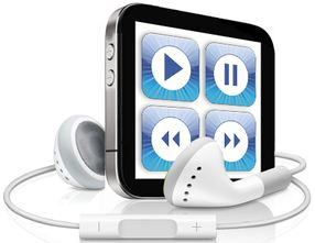 iPod touch mini, o realitate? Apple scapa pe web un display touch de 3x3 cm