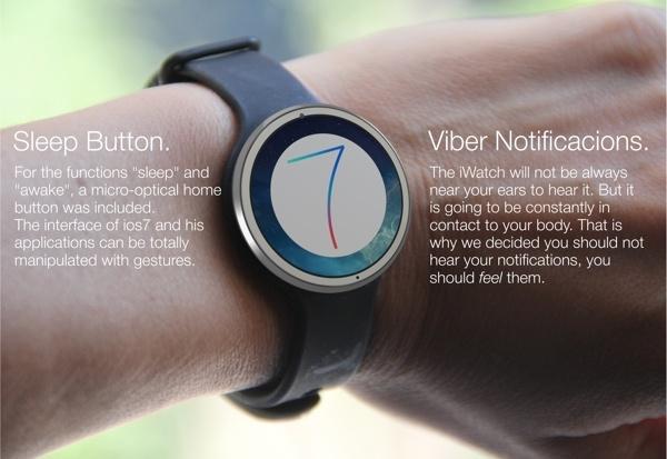 Iată un iWatch tradițional, un ceas clasic cu funcții de fitness/sănătate