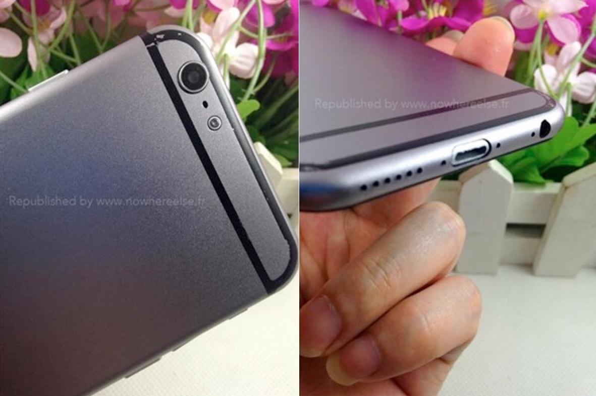 O nouă machetă a lui iPhone 6 prezintă varianta de culoare gri a terminalului