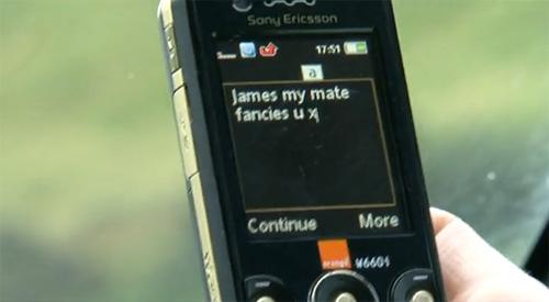 SMS-urile scrise la volan ucid din nou