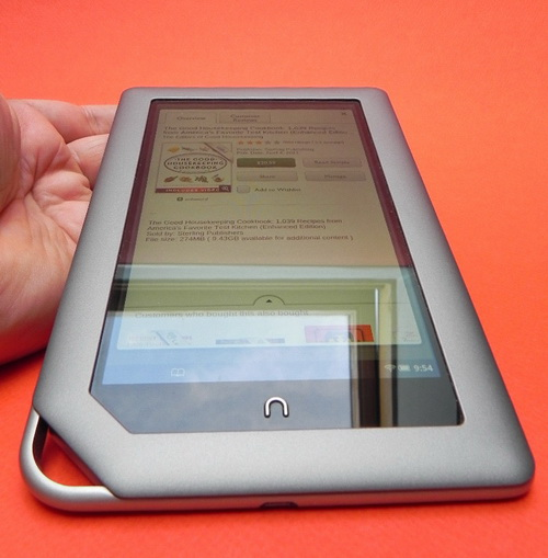 Barnes & Noble Logo pe Nook Tablet