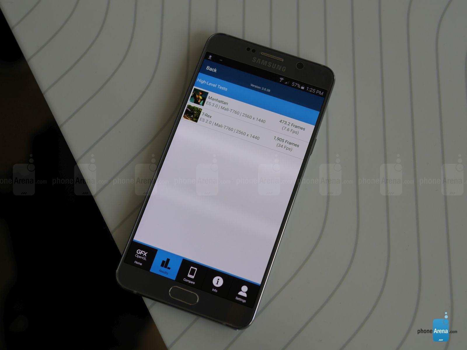 Primele benchmarkuri ale lui Galaxy Note 5 indică o performanţă similară cu a lui Galaxy S6