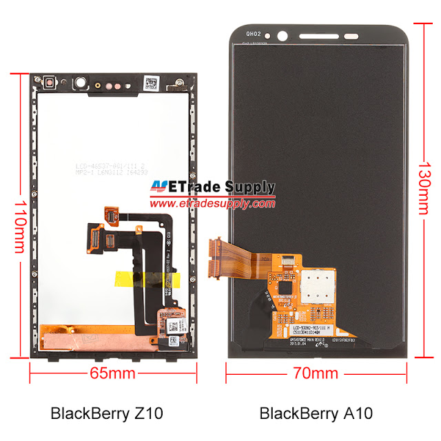 BlackBerry A10 comparat cu BlackBerry Z10