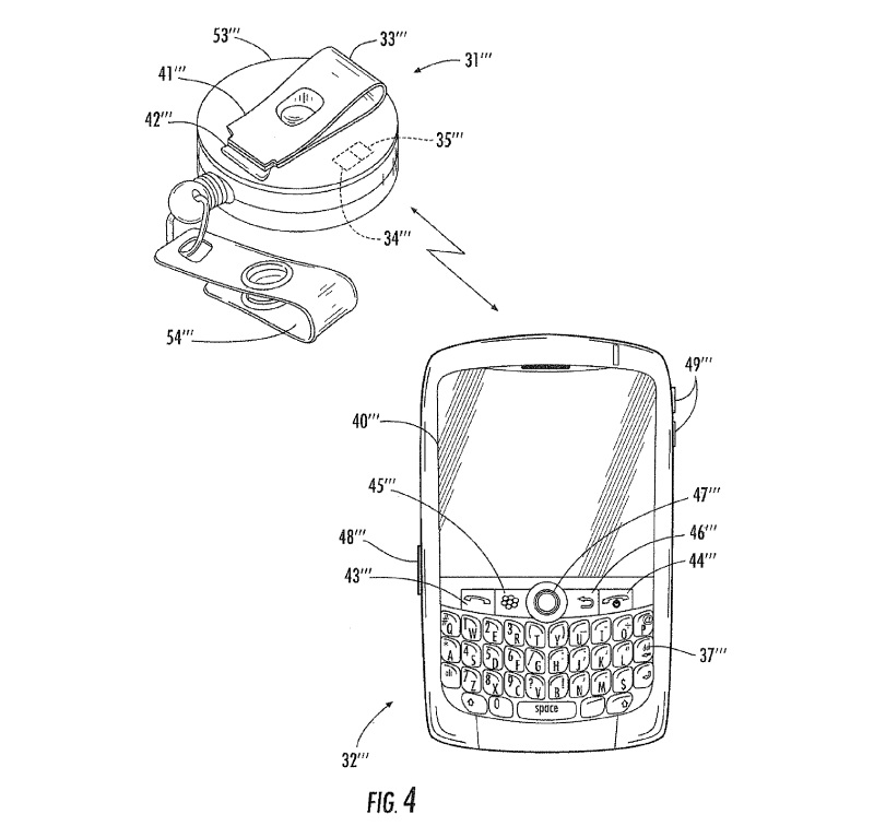 BlackBerry primește un brevet ce implică deblocarea telefonului prin intermediul unui smartwatch