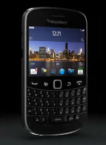 BlackBerry Bold Touch vine cu procesor de 1.2GHz, design neimpresionant...