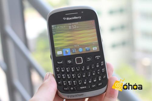 BlackBerry Curve 9320 apare Într-o sesiune hands-on
