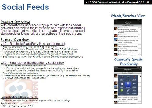 Viitoarele actualizări pentru BlackBerry OS ajung pe web (februarie 2011 - decembrie 2012); BlackBerry OS 7.0 confirmat!