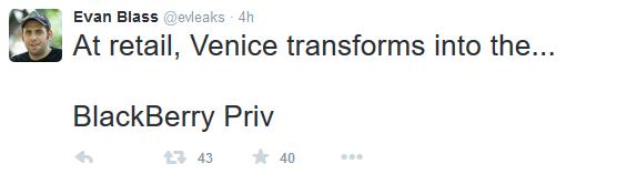 Primul smartphone cu Android al celor de la BlackBerry ar putea fi numit Priv