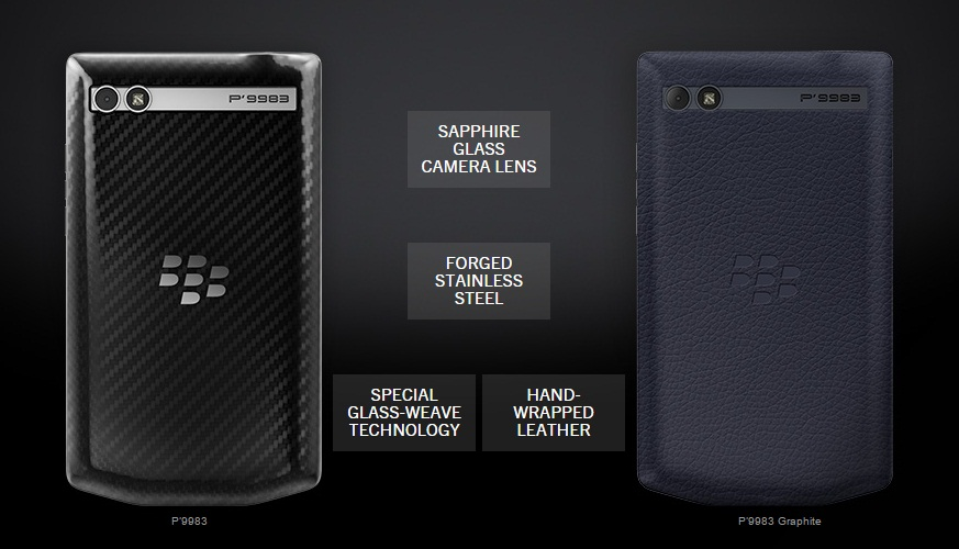BlackBerry Porsche Design P9983 lansat oficial, încă un smartphone BlackBerry de lux