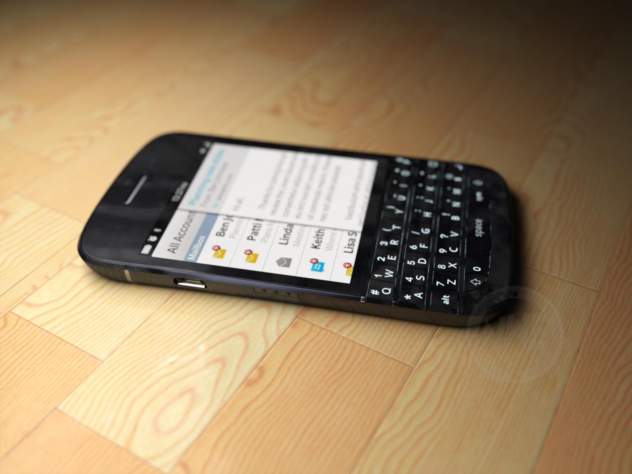 BlackBerry X10 Își face apariția Într-o serie de randari bine realizate