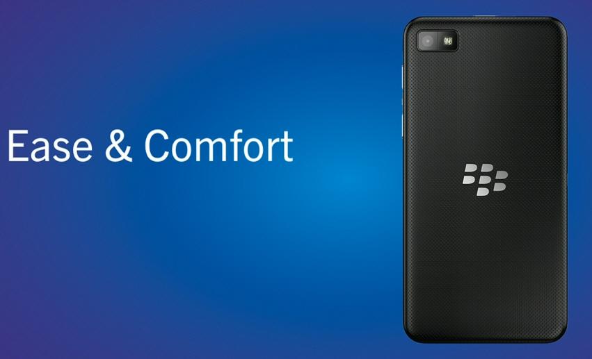 BlackBerry Z10 spate