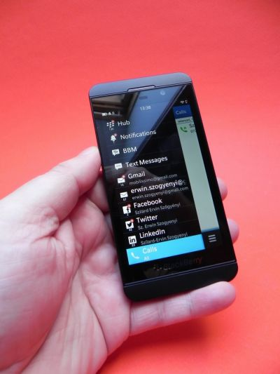Notificari BlackBerry Z10