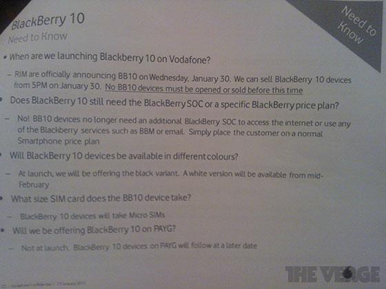 Iată cutia și ambalajul lui BlackBerry Z10