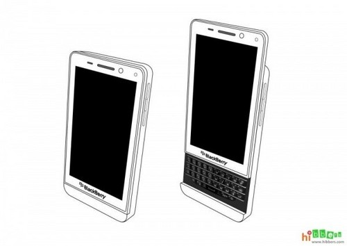 BlackBerry Milan, un telefon cu tastatura glisantă și BB 10 OS