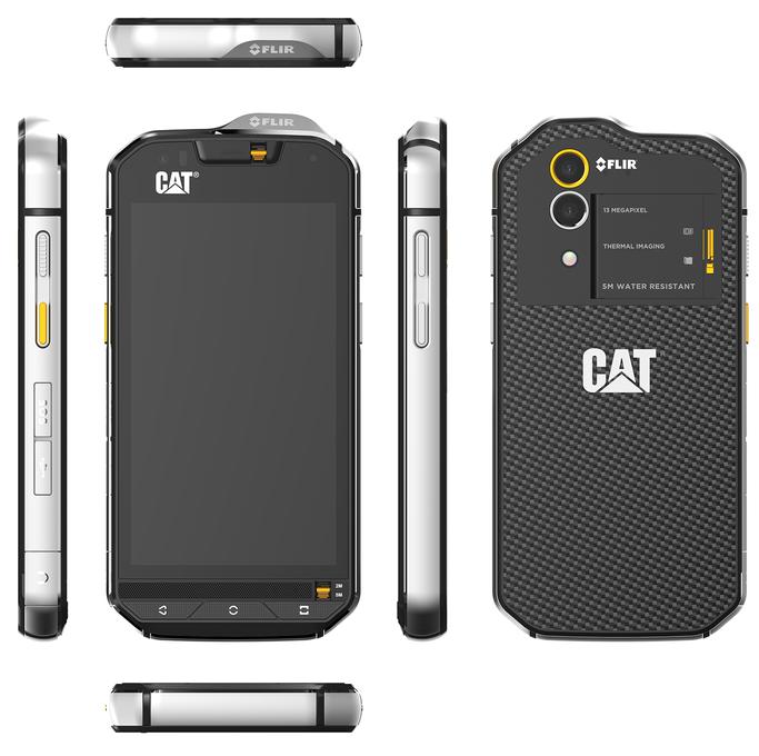 CAT pregătește lansarea smartphone-ului S60 în cadrul MWC 2016; device-ul vine aduce o cameră foto cu termoviziune