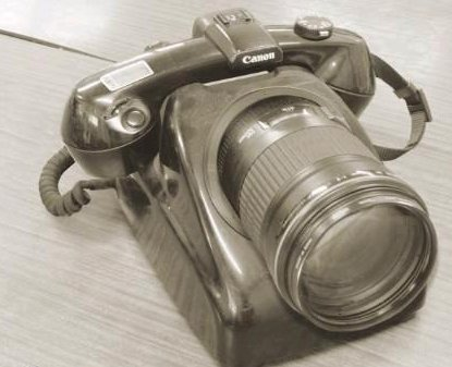 Cameraphone Canon, de data aceasta old-school