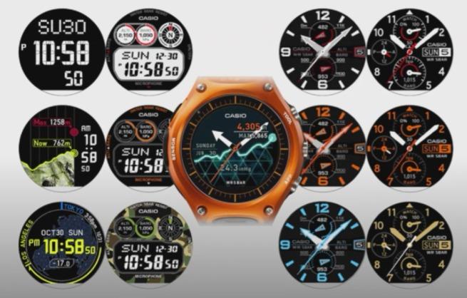 CES 2016: Casio prezintă un smartwatch cu Android Wear la bord şi rezistent la intemperii şi drumeţii