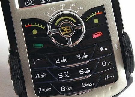 Telefonul Bugatti Veyron, mai aproape de jucării decât de gadgeturi de lux
