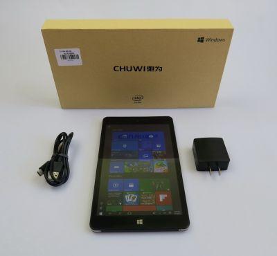 Continutul cutiei lui Chuwi Vi8 Plus