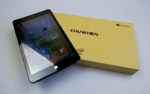 Chuwi Vi8 Plus scos din cutie