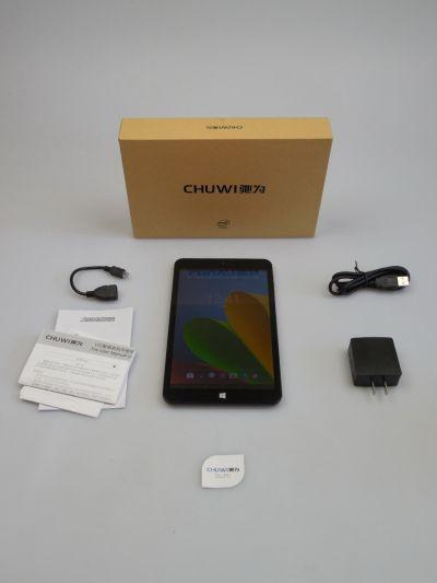 Continutul cutiei lui Chuwi Vi8