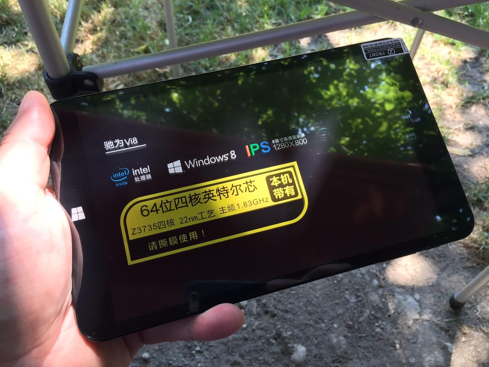 Primul contact Mobilissimo cu o tabletă dual boot: modelul Chuwi Vi8 vine cu Android şi Windows 8.1 la bord