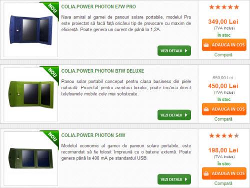 Colia prezintă o gamă nouă de panouri solare portabile: Power Photon S4W, E7W Pro și B7W Deluxe