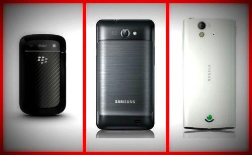 Noutăți În .ro: BlackBerry 9900, Samsung Galaxy R și Sony Ericsson Xperia ray - back