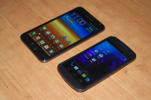 Samsung Galaxy Nexus vs Samsung Galaxy Note - box În categoria grea a telefoanelor inteligente