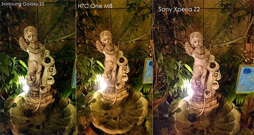 Samsung Galaxy S5, HTC One M8 și Sony Xperia Z2 se duelează Într-un test comparativ de fotografiere În condiții low-light