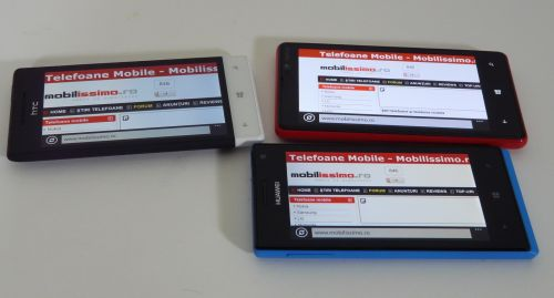 HTC Windows Phone 8S versus Nokia Lumia 820 vs Huawei Ascend W1 (Video)