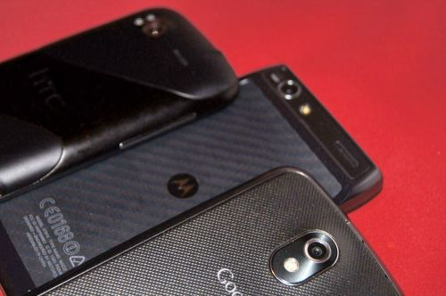 Cameră foto și video HTC Sensation XE vs Motorola RAZR vs Samsung Galaxy Nexus