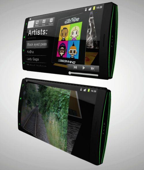 Telefonul cu 3 ecrane flexibile rulează Android și apare Într-un clip reușit (Video)