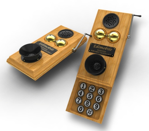 Edi-Mobile, un telefon concept vintage