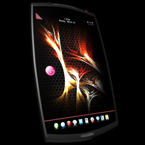 LG HF3, un telefon concept controlat prin comenzi vocale
