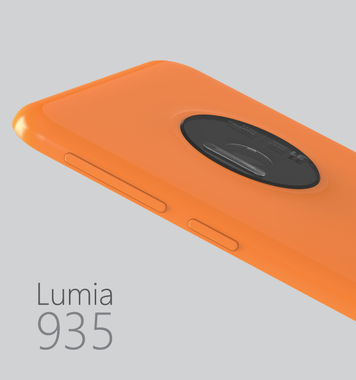 Concept Microsoft Lumia 935