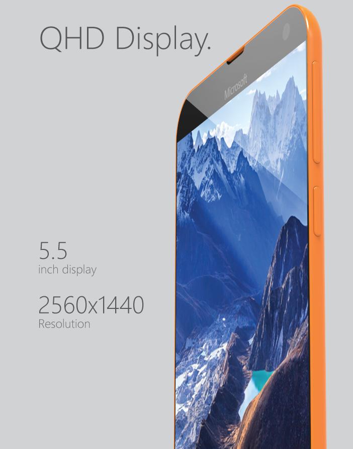 Microsoft Lumia 935 este un telefon concept arătos, cu camera de 31 de megapixeli și ecran Quad HD