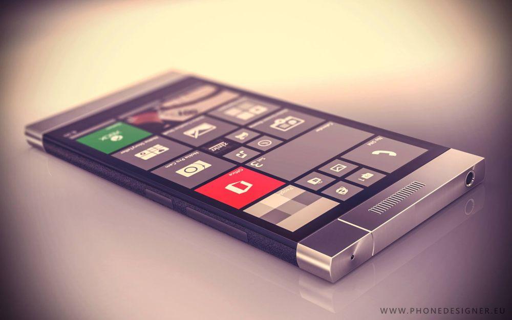 Spinner Phone, un telefon concept cu camera rotativă și design de Lumia