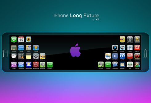 iPhone long concept