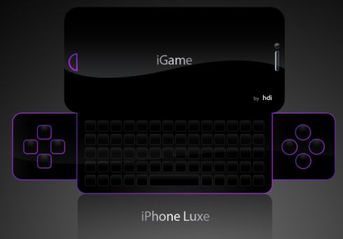 iPhone iGame concept
