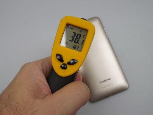 38.3 grade Celsius după 15 minute de jucat Riptide GP2