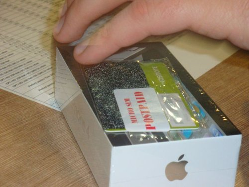 Primul iPhone Cosmote