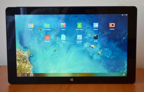 Prima impresie: Cube i7 Remix, tabletă cu display uriaș de 11.6 inch și Remix OS ca sistem de operare